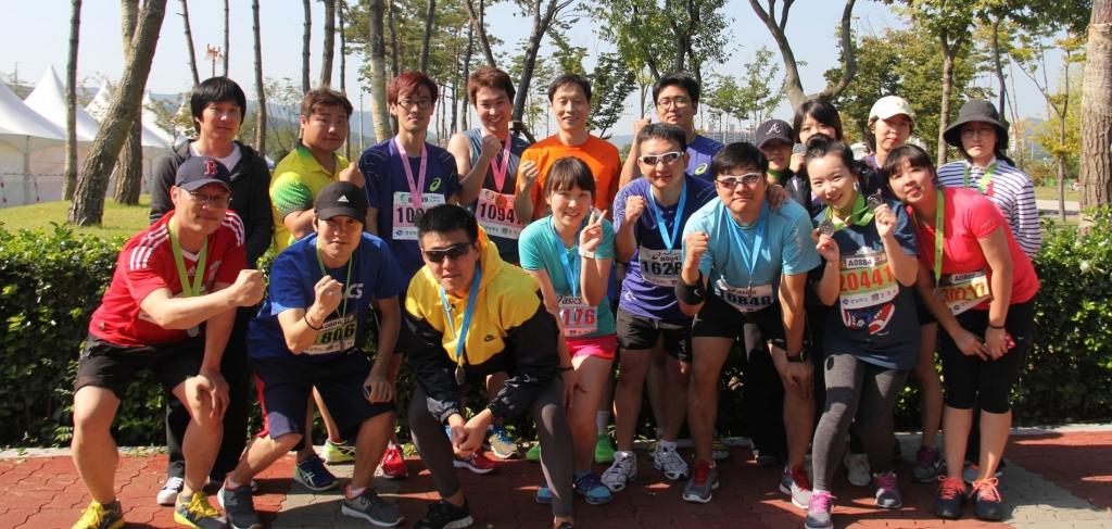 경주국제마라톤을 마치고 2013 10/13