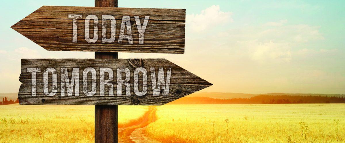 내일을 걱정하지 마라